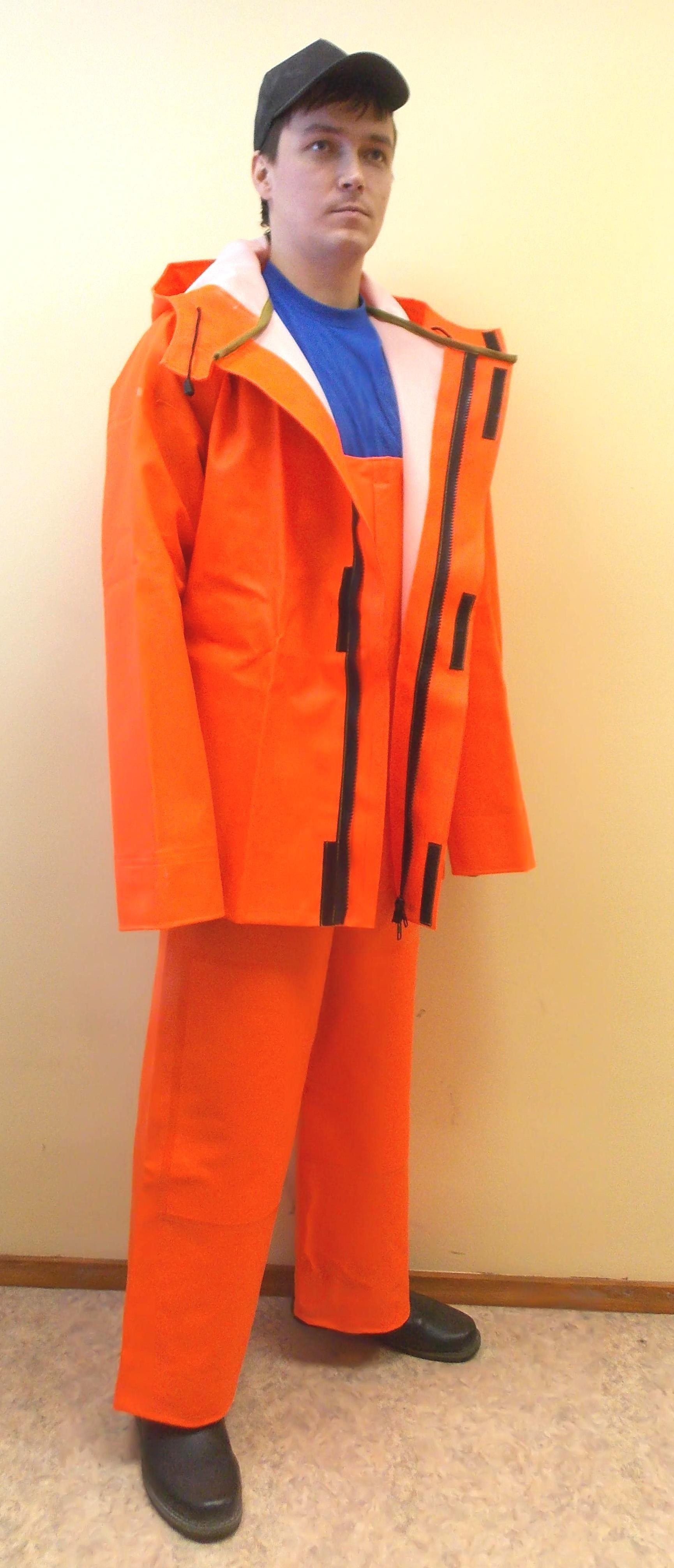 прорезиненные костюмы для рыбаков